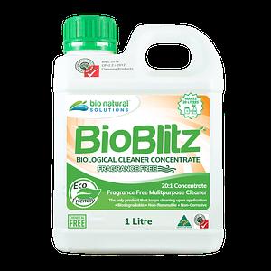 1 litre bottle of Bio Blitz Fragrance Free