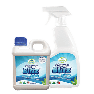 Shower Blitz 1 litre and 500ml