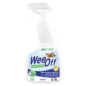 Wee Off Stain and Odour Remover 500ml. Remove urine stains and odour