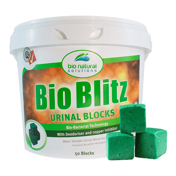 50 Block Tub of Bio Blitz Urinal Blocks